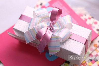Как завязать красивый бант на подарочной упаковке, мастер класс